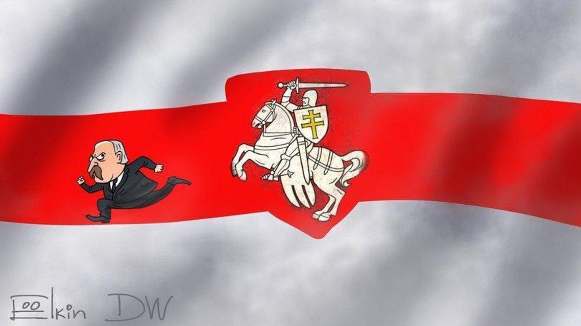 Протесты в Беларуси: Реакция сети – ФОТО - фото 203808