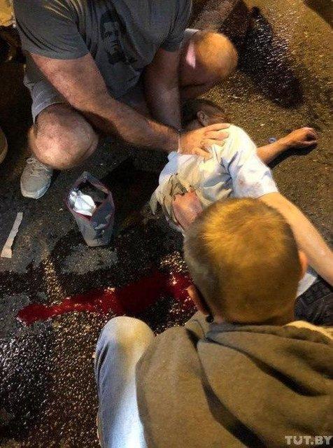 Протесты в Беларуси, день второй: Как это было – ФОТО, ВИДЕО - фото 203838