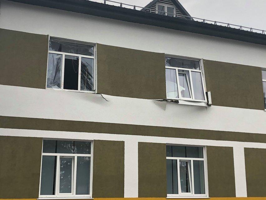 В военном общежитии  'Десны' прогремел взрыв, есть погибший - фото 204413