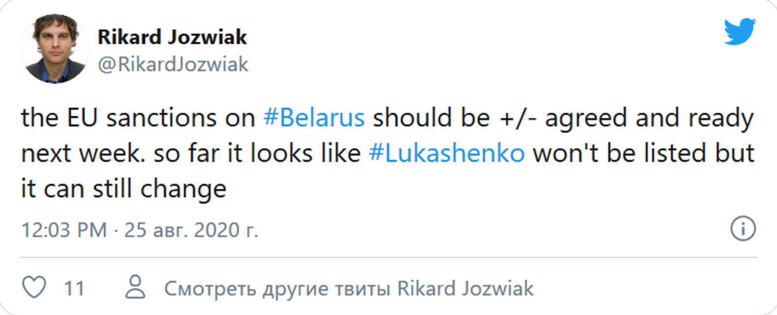 ЕС не включил Лукашенко в санкционные списки – СМИ - фото 204432