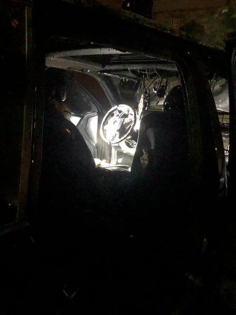 Гео Леросу сожгли машину: Все подробности – ФОТО, ВИДЕО - фото 204685