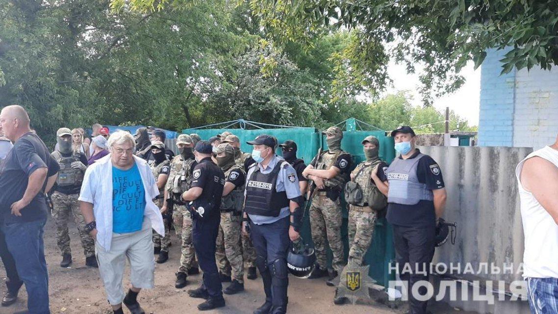 На Харьковщине произошло массовое столкновение с ромами – ФОТО - фото 204694