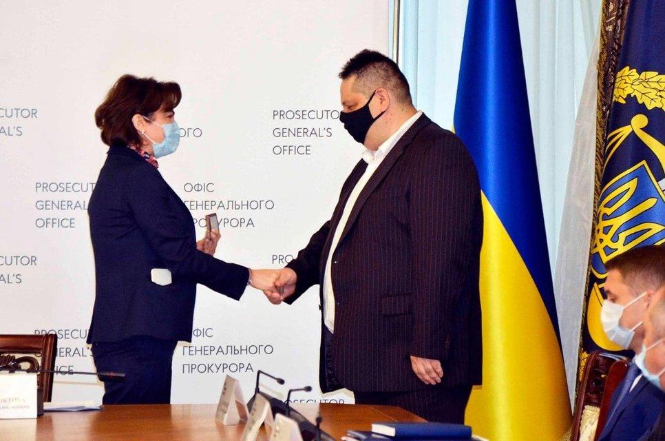 Венедиктова назначила своим замом юриста Медведчука - фото 205308