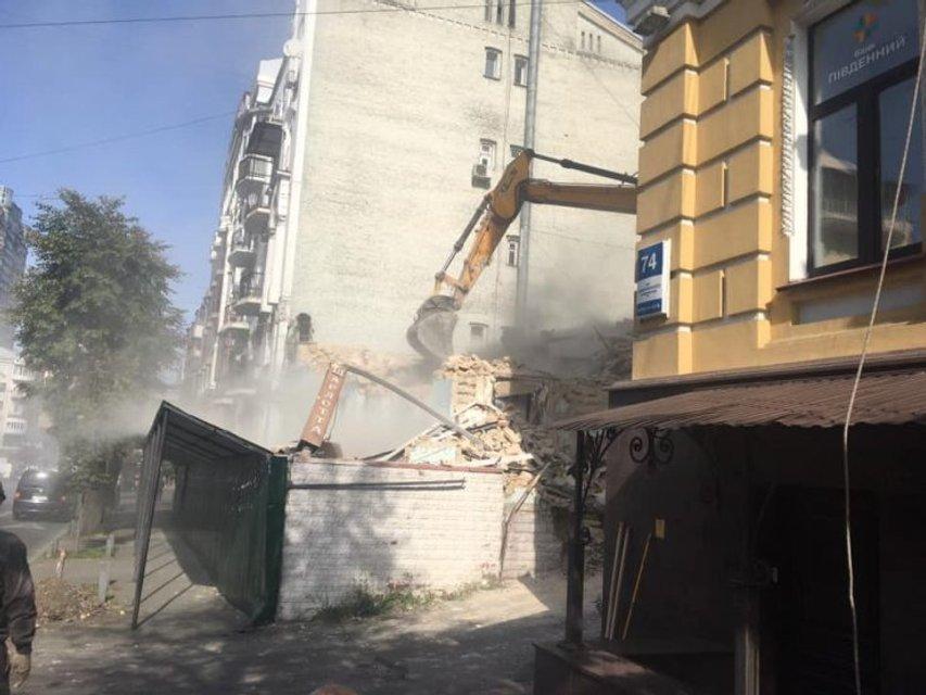 Ради офисного здания: в центре Киева снесли 150-летнюю усадьбу (ФОТО) - фото 205897