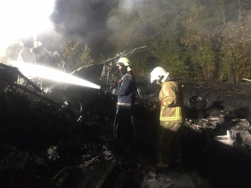 Гибель Ан-26: Спасатели продолжают поиски погибших - фото 205947