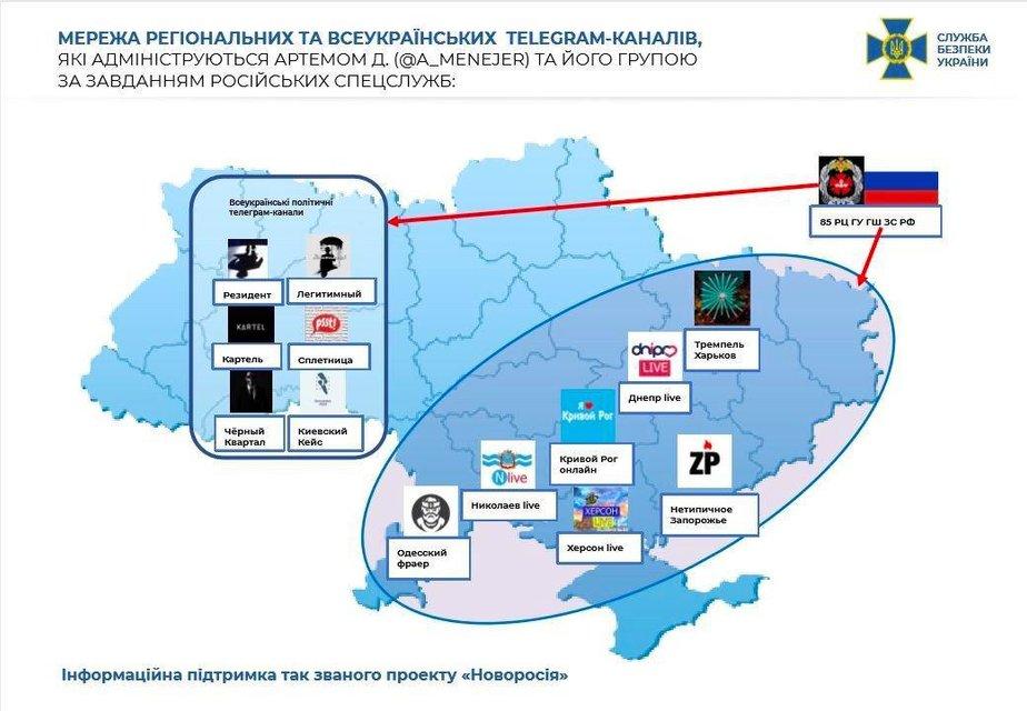 Зрада з телеграму: канали 'Легитимный' і 'Резидент' виявились мережею шпигунів-росіян - фото 206988