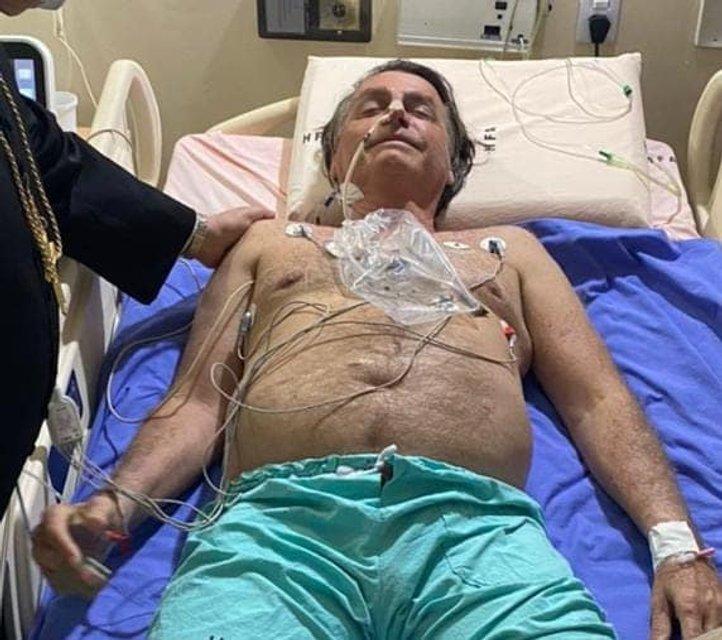 На президента Бразилії напала люта гикавка - його ушпиталили - фото 208503