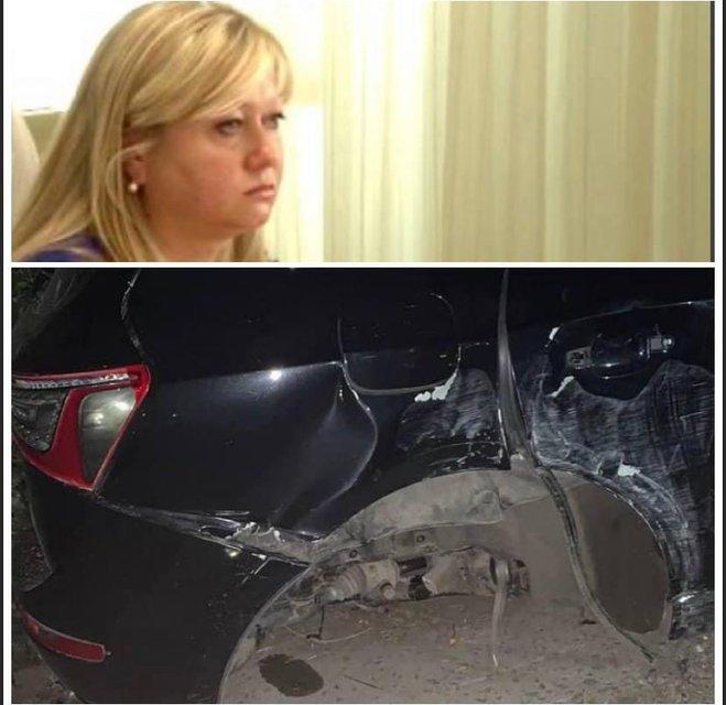 П'яненька суддя на позашляховику влаштувала ДТП та ледь не вбила людей - фото 208599