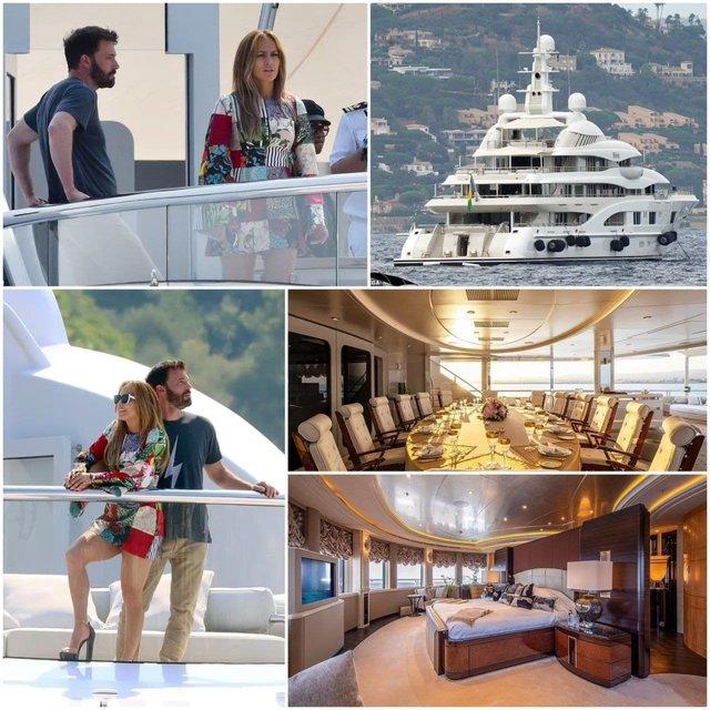 На яхті Ахметова: Дженніфер Лопес відсвяткувала 52-річчя з Беном Аффлекоим - фото 208642