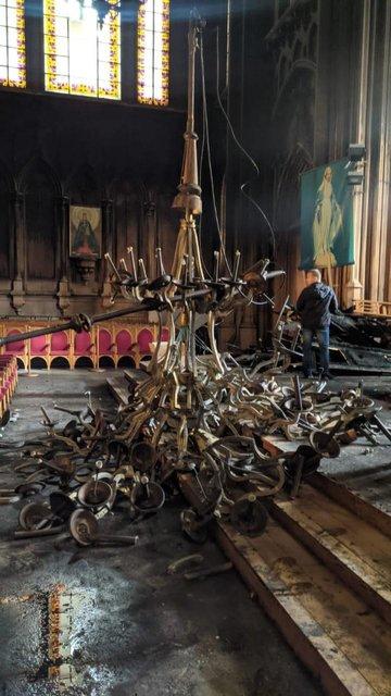 Пожежа у київському соборі святого Миколая знищила унікальний орган - фото 209016