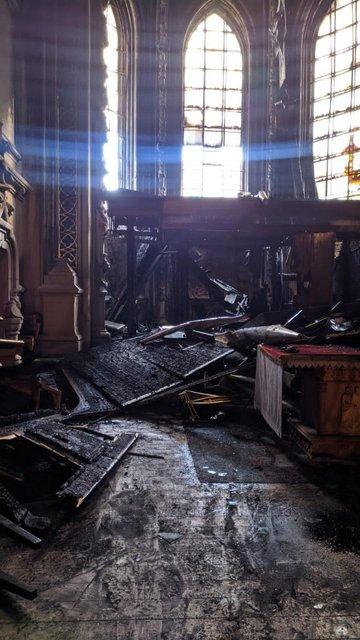 Пожежа у київському соборі святого Миколая знищила унікальний орган - фото 209017