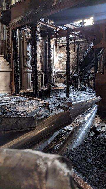 Пожежа у київському соборі святого Миколая знищила унікальний орган - фото 209019