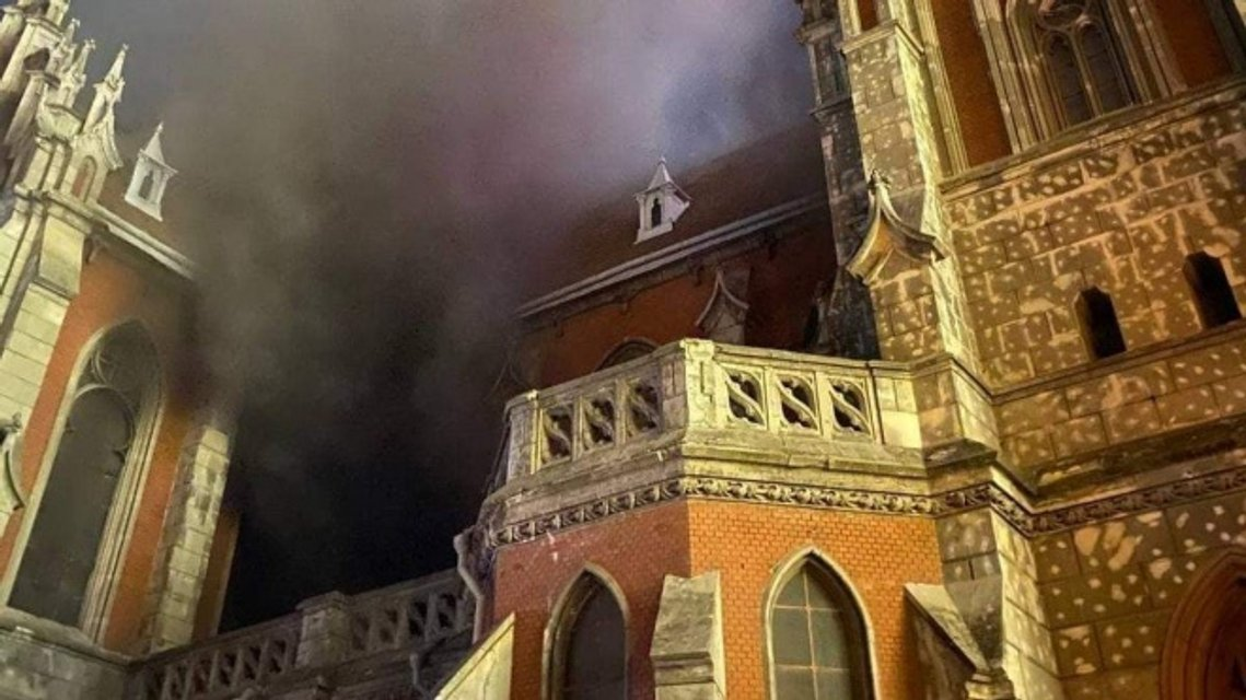 Пожежа у київському соборі святого Миколая знищила унікальний орган - фото 209021