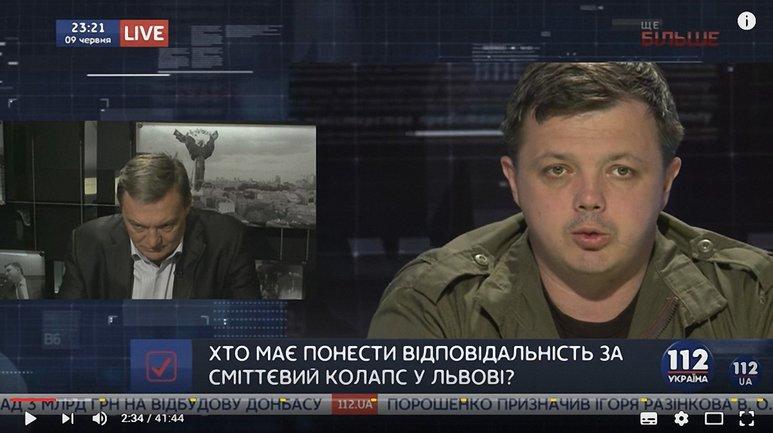 "Семенченко и Гримчак - гости ""Вечернего прайма"" - фото 1"
