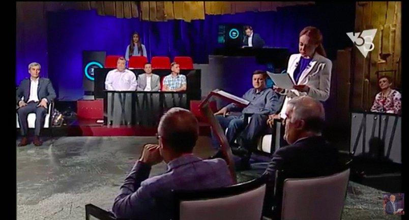 Татьяна Гончарова - ведущая Шустер LIVE - фото 1