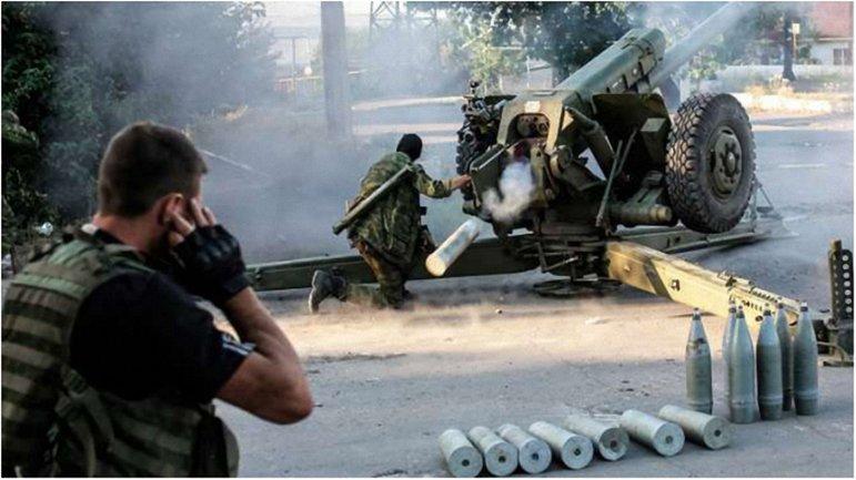 Боевики начали активно использовать крупнокалиберную артиллерию и минометы. - фото 1