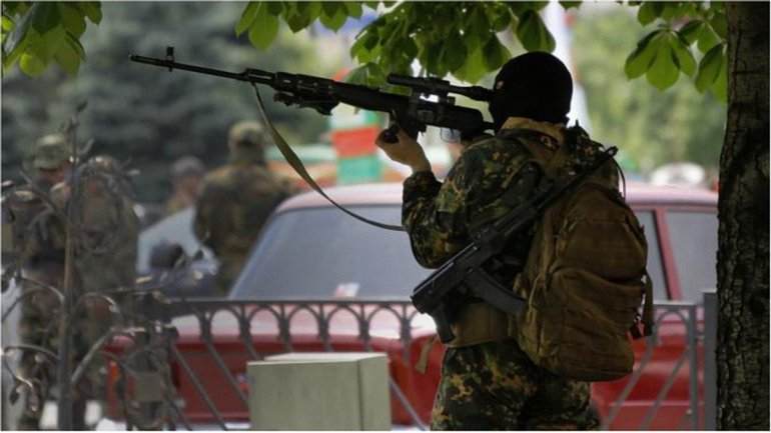 Снайпер террористов унес жизнь бойца ВСУ. - фото 1