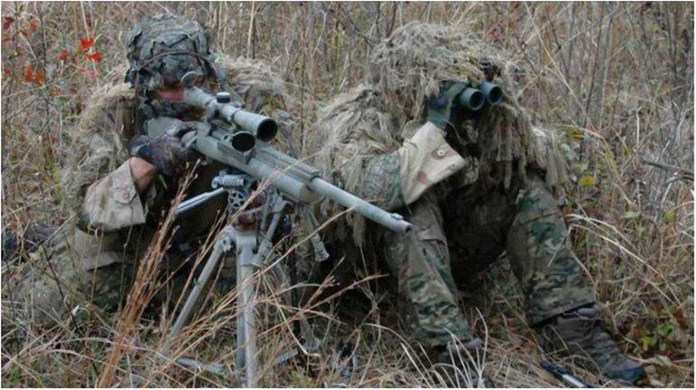 Россияне перекинули к линии фронта 12 боевиков с новейшими снайперскими винтовками. - фото 1