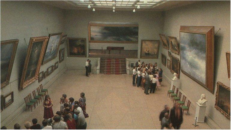 Оккупанты говорят, что картины вернут в Феодосию к 2017-му году. - фото 1