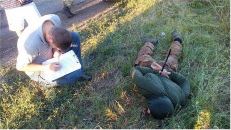 Бойцы НГУ действовали в составе группировки грабителей. - фото 1