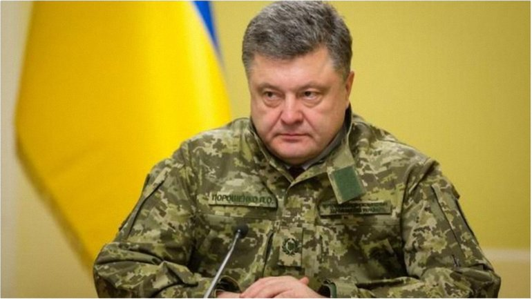 Президент Украины уверен, что военные проблемы страны можно решить лишь при поддержке НАТО. - фото 1