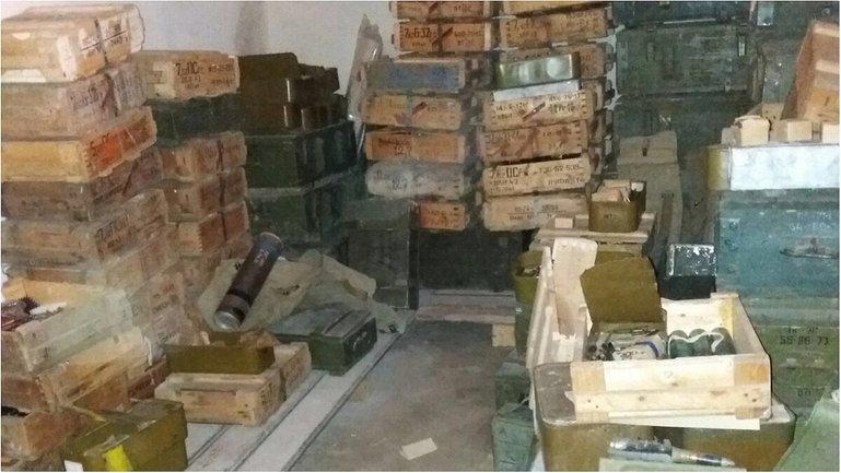 СБУ нашли много оружия в Днепропетровской области - фото 1