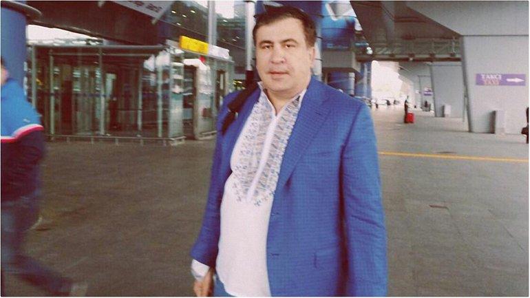 Саакашвили остался без транспортного средства - фото 1