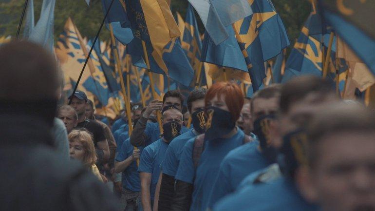 Так протестовал Азов в мае этого года - фото 1