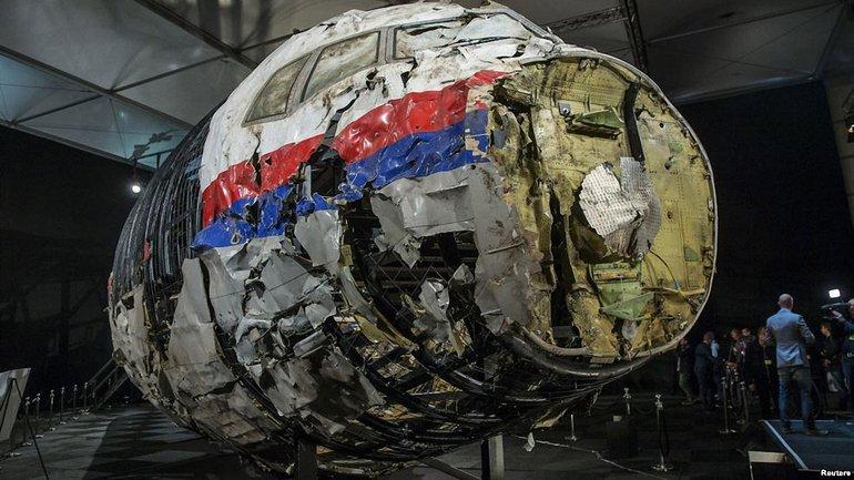 Реконструкция обломков самолета, упавшего на Донбассе - фото 1