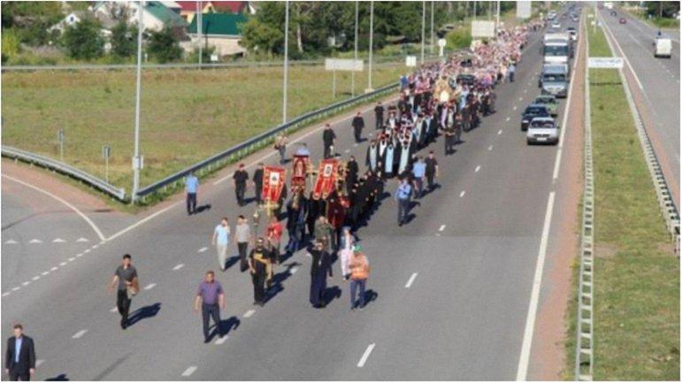 Из-за крестного хода полиция перекроет центр столицы. - фото 1