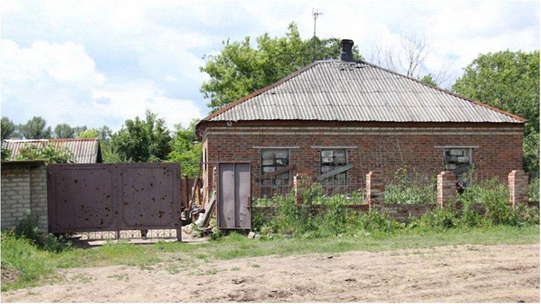 Летом 2014 от обстрелов пострадали села на Луганщине - фото 1