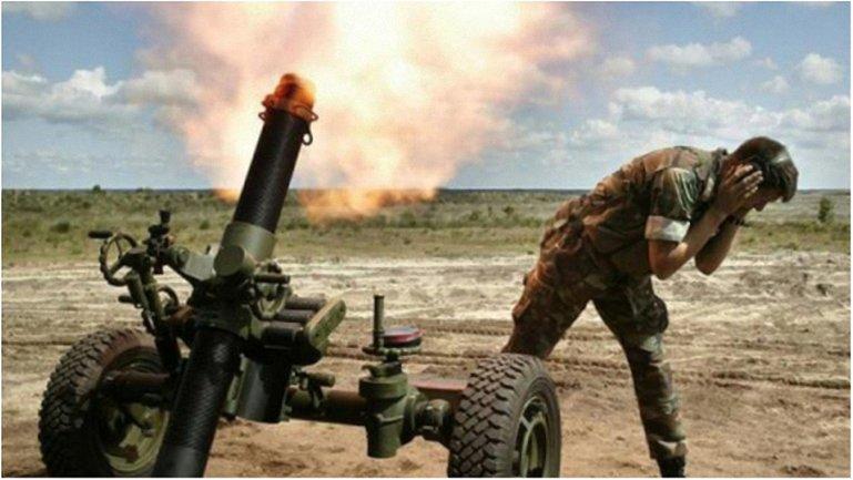 Боевики 27 раз за день обстреляли позиции сил АТО. - фото 1