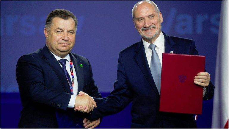 Министры обороны Украины и Польши подписали соглашение, предусматривающее поставки оружия. - фото 1