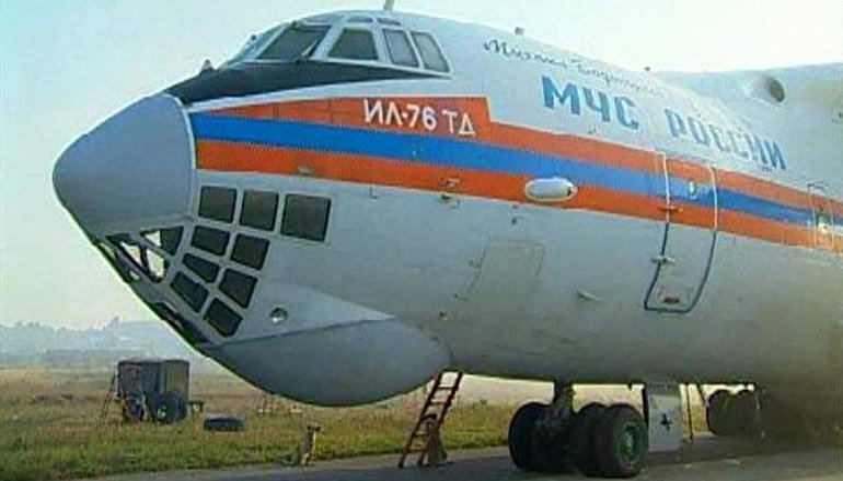 Ил-76 МЧС России,  - фото 1