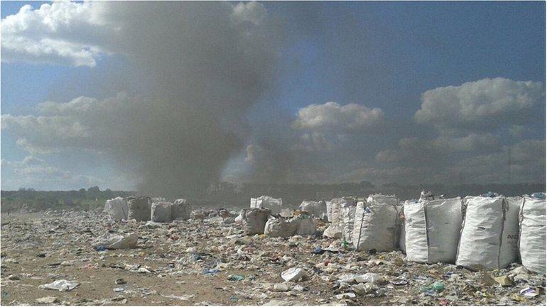 Местные жители утверждают, что пожар - дело рук неизвестных провокаторов - фото 1