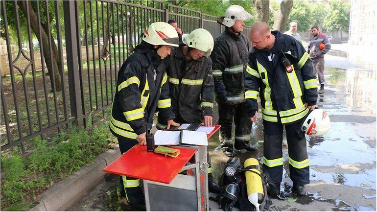 Спасатели потушили позар  - фото 1