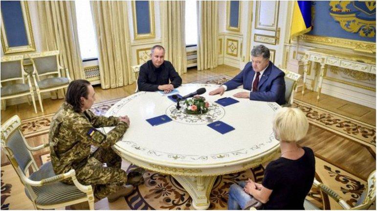 Василий Грицак и Петр Порошенко пообщались с четой Безъязыковых. - фото 1