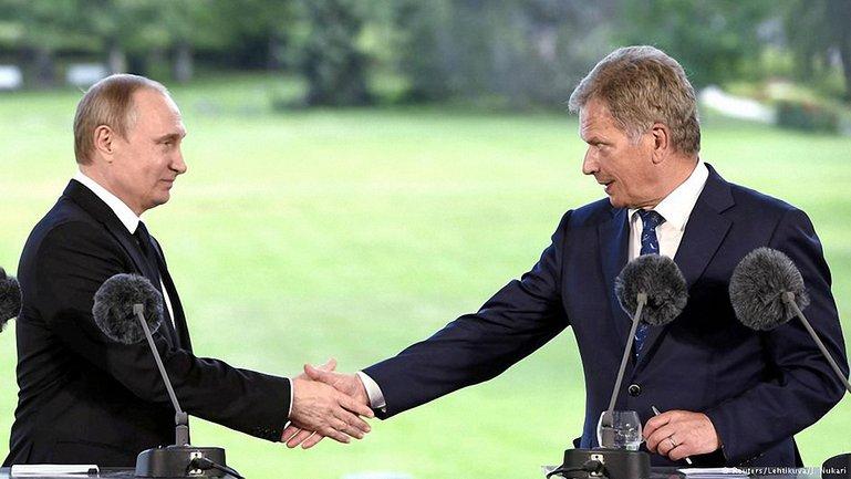 Встреча президента РФ Владимира Путина и президента Финляндии Саули Ниинистё - фото 1
