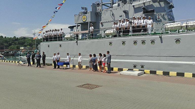 В Одессе отмечают День ВМС Украины - фото 1
