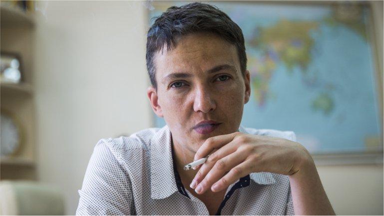 """Надежда Савченко не пояснила подробностей, но намекнула на общение с главами """"республик"""" - фото 1"""