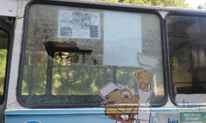 Двое подростков из пневматического пистолета разбили окна троллейбуса - фото 1