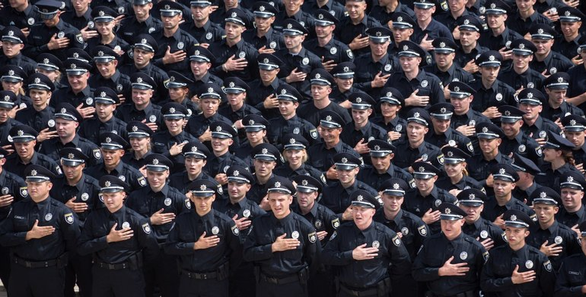 В Украине празднуют день полиции - фото 1
