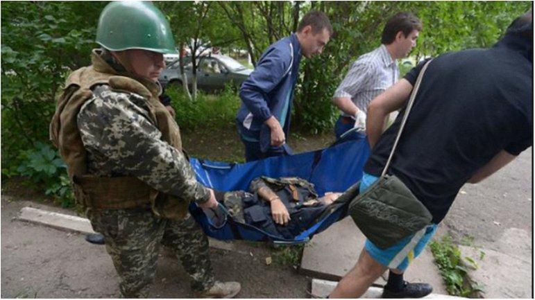 В зоне АТО получили ранения девять оккупантов - фото 1