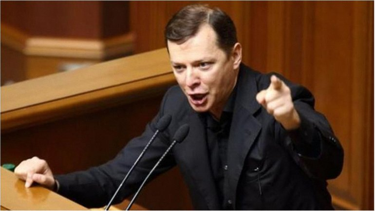 Олег Ляшко показал, что может не только выступать в Верховной Раде - фото 1