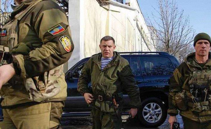 """Боевики репетировали эвакуацию главаря """"ДНР"""" - фото 1"""