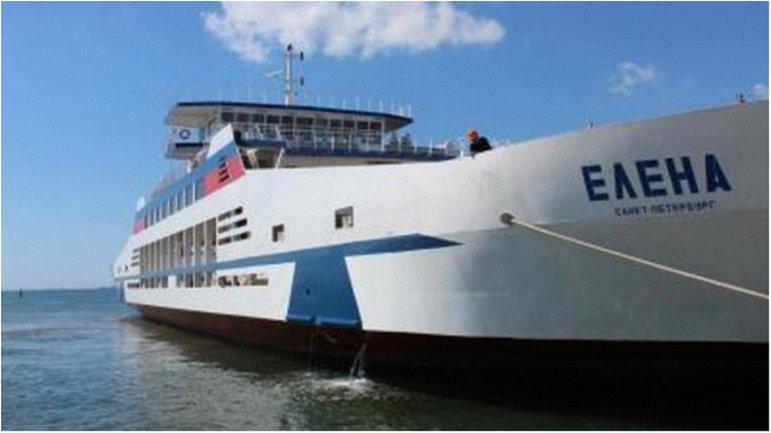"""На пароме """"Елена"""" случился пожар, когда пассажиры грузились на судно - фото 1"""