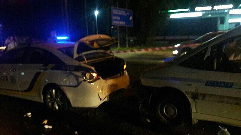 2 полицейских пострадали в ДТП - фото 1