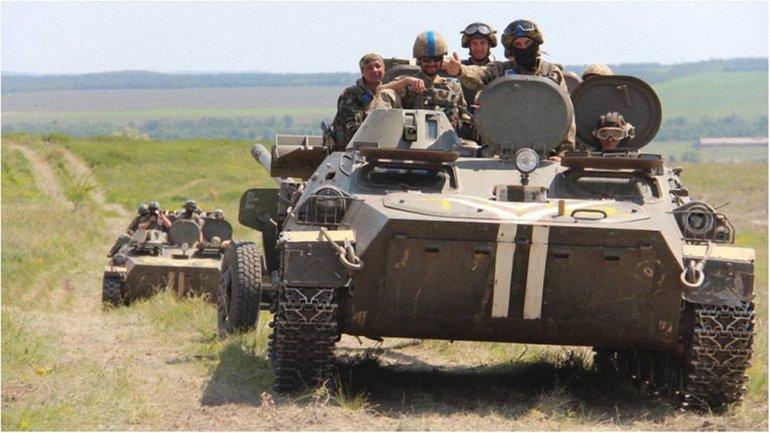 Российские оккупационные войска 20 раз обстреляли украинские позиции - фото 1