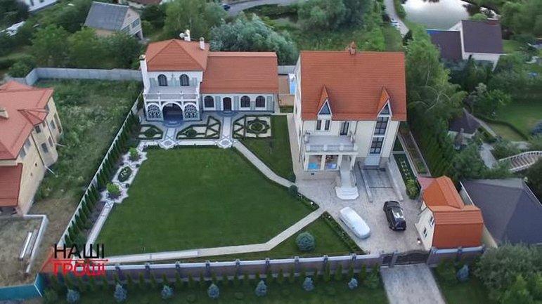 Журналисты показали имение бывшего СБУшника и его жены - фото 1