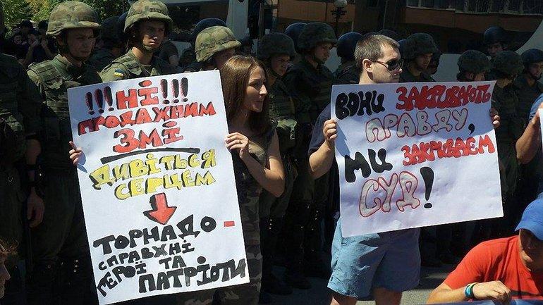"""""""Торнадовцев"""" обвиняют не по тем статьям уголовного кодекса, о которых рассказывают - фото 1"""